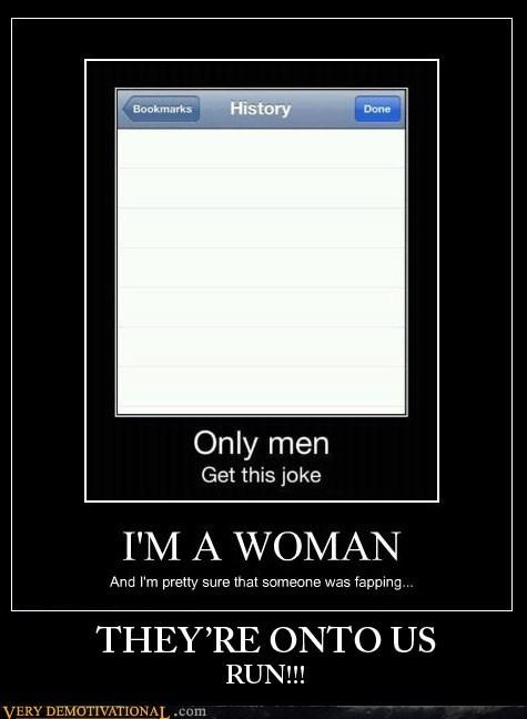 hilarious,ladies,men,run
