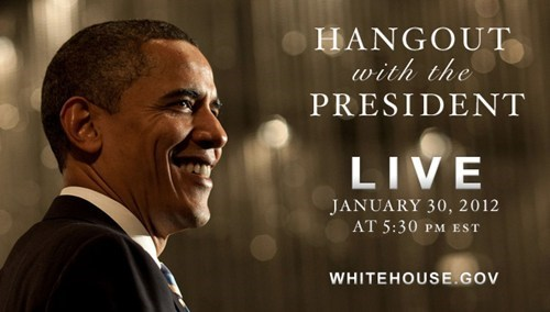 Presidential Google+ Hangout of the Day