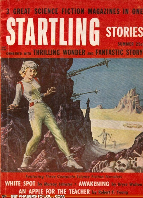 WTF Sci-Fi Book Covers: Startling Stories