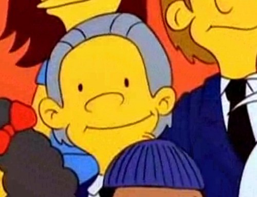 Julian Assange on the Simpsons of the Day