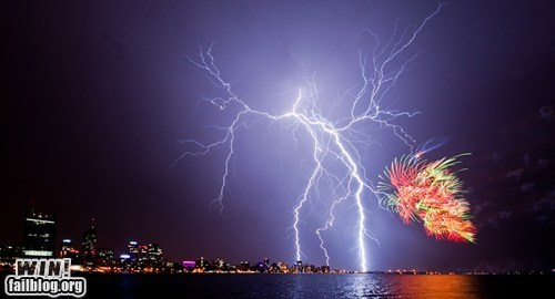 Mother Nature FTW: Light Show