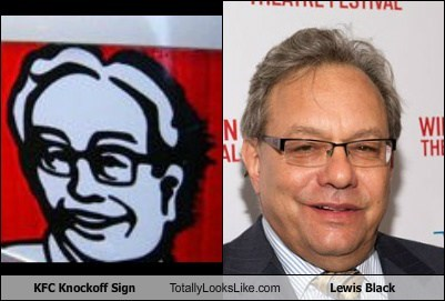KFC Knockoff Sign Totally Looks Like Lewis Black