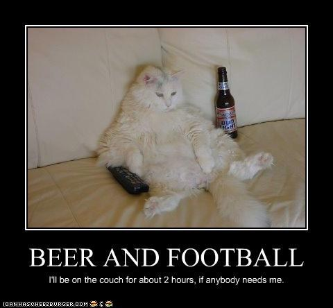 The Big Game: Get Your Beer and Football On!