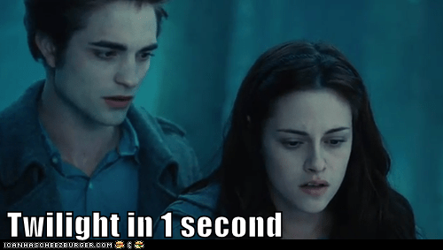 bella swan,edward cullen,kristen stewart,one second,open mouth,robert pattinson,Staring,summary,twilight