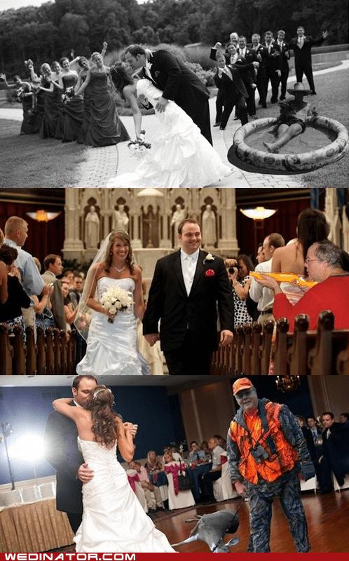 dads,Father,funny wedding photos,photoshop