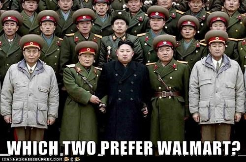 WHICH TWO PREFER WALMART?