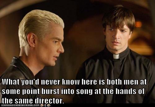 Buffy the Vampire Slayer,caleb,director,james marsters,Joss Whedon,musical,nathan fillion,song,spike