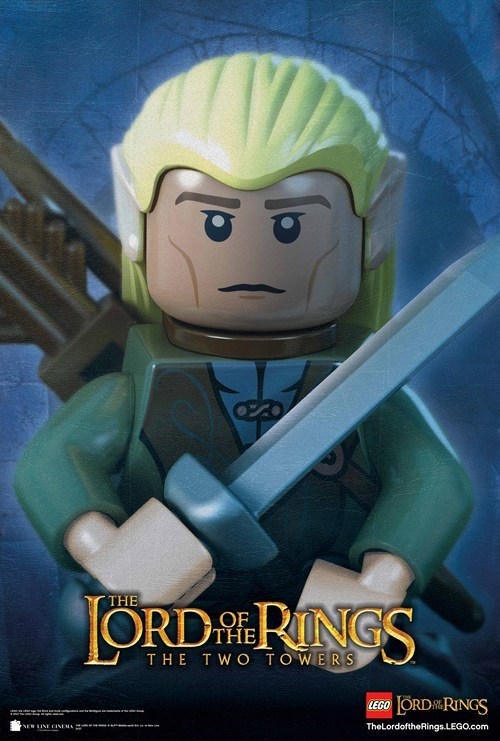 Lego Lord of the Rings Character Posters of the Day