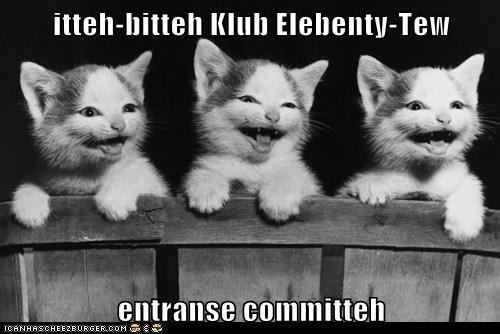 itteh-bitteh Klub Elebenty-Tew  entranse committeh