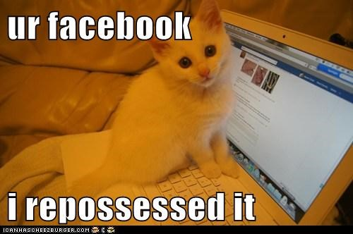 ur facebook  i repossessed it