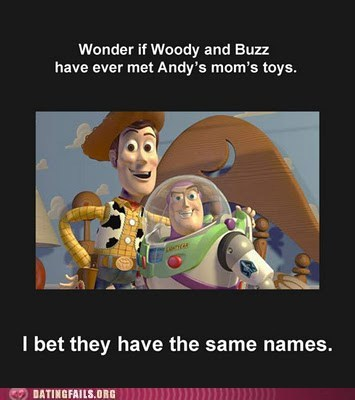 Woody, Buzz, Meet Woody And Buzz!