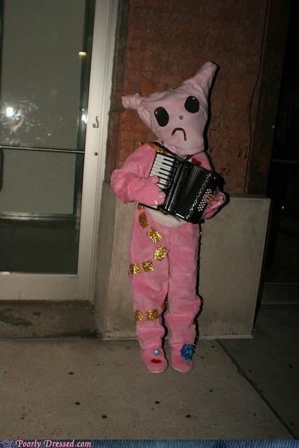 accordion,onesie,pajamas,sad face