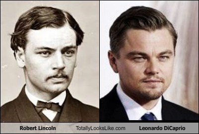 Robert Lincoln Totally Looks Like Leonardo DiCaprio