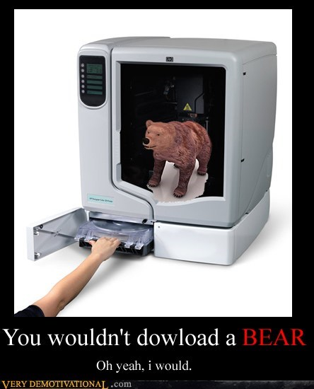 YOU WOULDN'T DOWNLOAD A BEAR