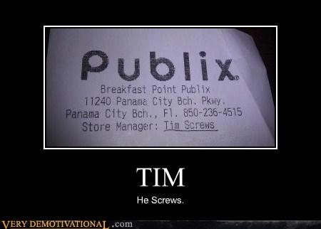 hilarious,name,publix,receipt,tim