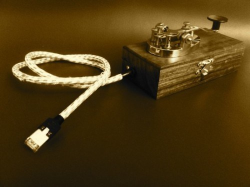 Morse Code Tweeting Device of the Day