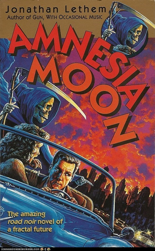 WTF Sci-Fi Book Covers: Amnesia Moon