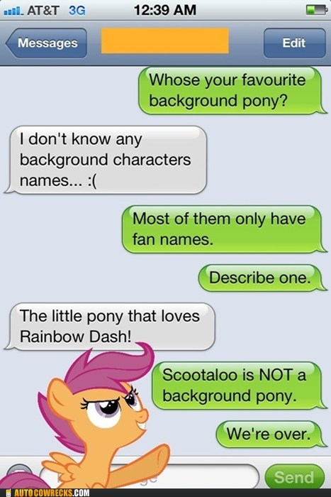 Only Bronies Will Get This Joke