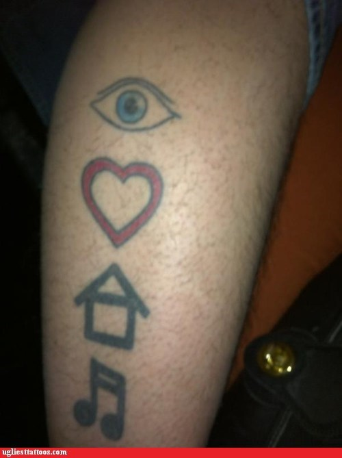 Eye Think U Made a Huge Mistake Getting This Tattoo