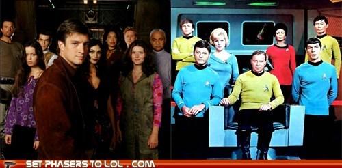 Battle of the Cancelled: Firefly Vs. Star Trek