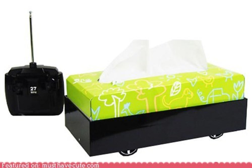 Remote Control Tissue Box