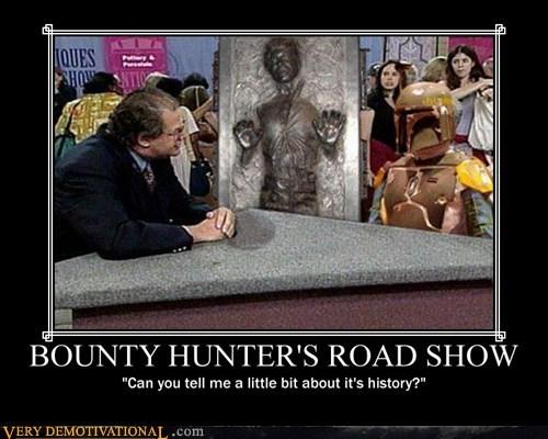 BOUNTY HUNTER'S ROAD SHOW
