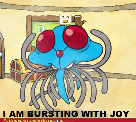 bursting with joy,drream world,funny,gameplay,ironic,never looks happy,tentacruel,wrong