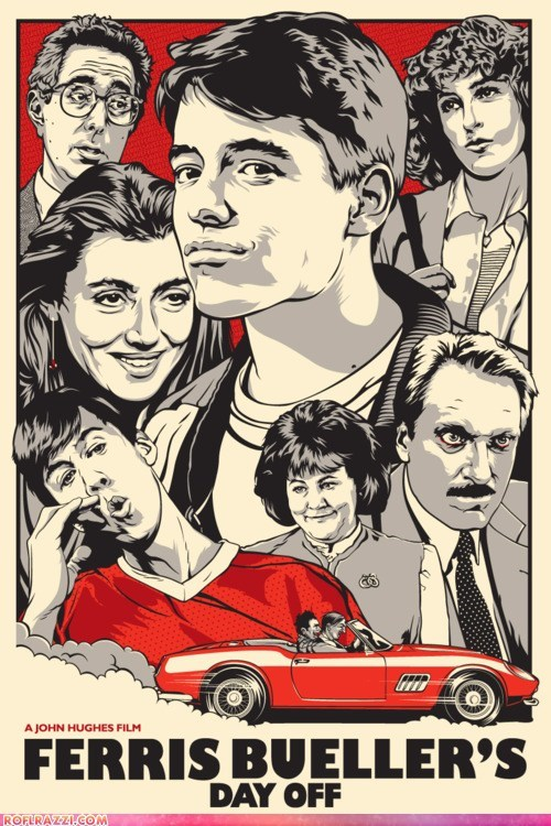 art,awesome,jennifer grey,matthew broderick,Movie,poster