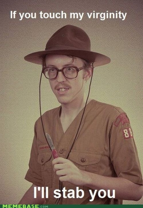 I Got a Merit Badge in Forever Alone