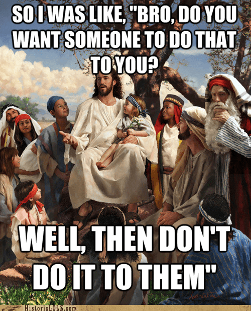 Do Unto Others, BRO
