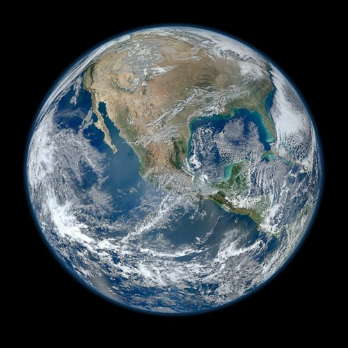 Alternate Blue Marble Photo of the Day