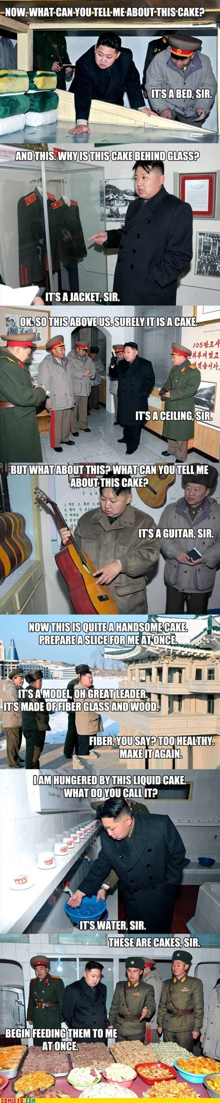Kim Jong-Un Must Be Hungry