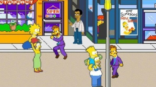 Simpsons Arcade Game on XBLA of the Day
