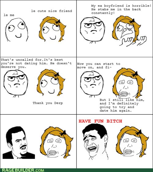 Rage Comics: We Could Have Had It All