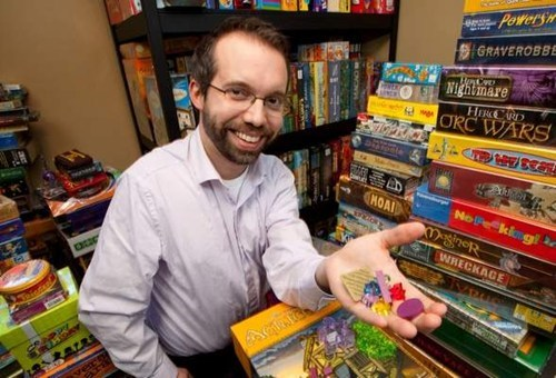 Impressive Board Game Collection of the Day