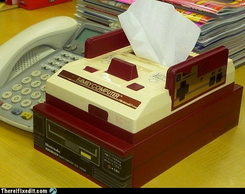 Have an Issue? Here's a Tissue