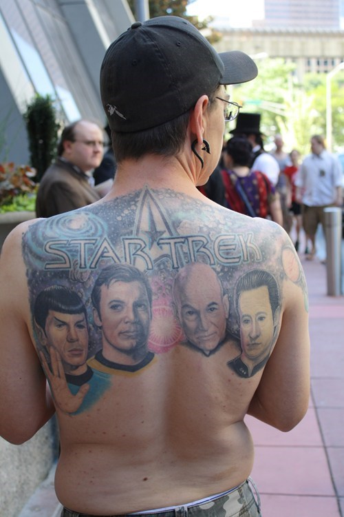 Tattoo WIN: His Back is the Final Frontier