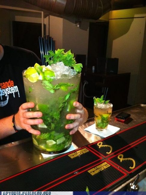 My Mojito Can Beat Up Your Mojito