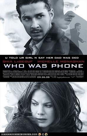 Shia Transformed Into Phone
