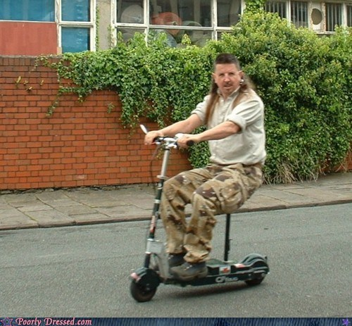 elf,magic missile,mullet,scooter