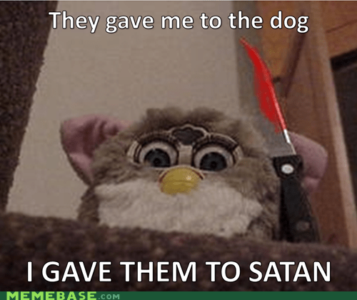 Evil Furby Is a Gremlin Gone Worse