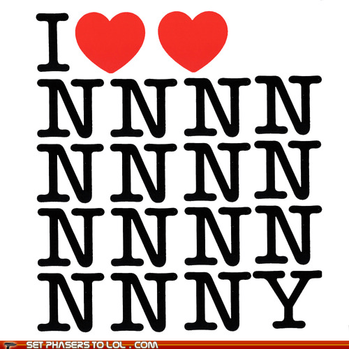 I love New New New New ... York!