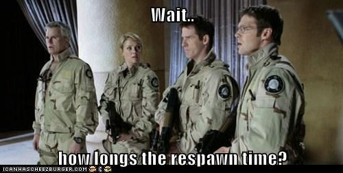 continuum,long,respawn,shooter,Stargate,Stargate SG-1,video games,wait