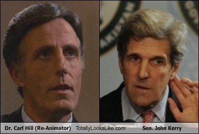 Dr. Carl Hill (Re-Animator) Totally Looks Like Sen. John Kerry