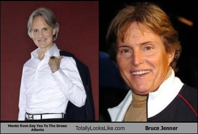 Monte from Say Yes To The Dress: Atlanta Totally Looks Like Bruce Jenner
