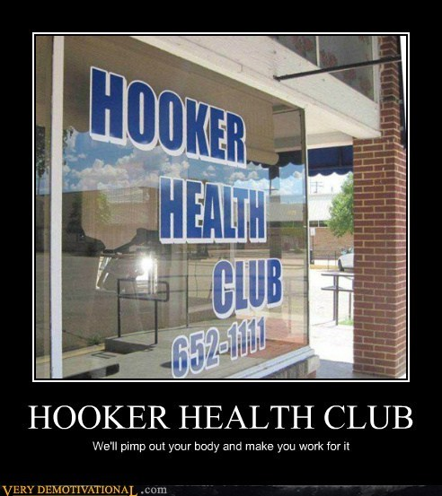 HOOKER HEALTH CLUB
