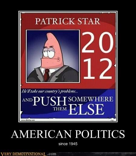 america,hilarious,patrick,politics,star