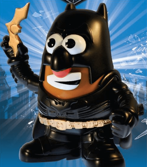 Dark Knight Mr. Potato Head of the Day