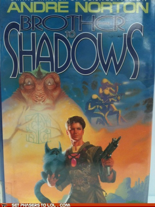 WTF Sci-Fi Book Covers: Brother to Shadows