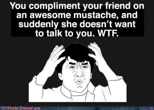 Women Don't Know How to Take a Compliment
